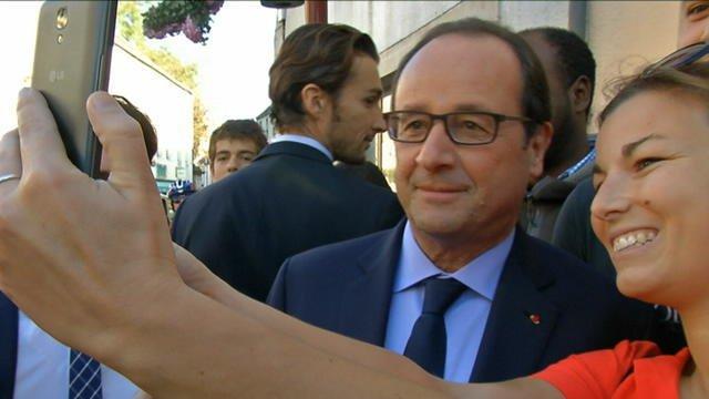 Hollande en quête de popularité