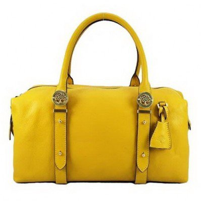 Limited Mulberry Drew Clipper Holdalls Yellow At A Wholesale Price