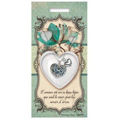 Pendentif C½ur Amour - Magie des Bijoux