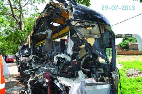 29-07-2013 - Sabou - Ouagadougou - Ouaga - Bobo - Grave accident d'...