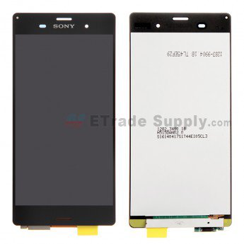 Sony Xperia Z3 LCD Screen and Digitizer Assembly - Black - ETrade Supply