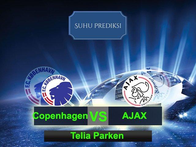 Prediksi Bola Copenhagen Vs Ajax 10 Maret 2017