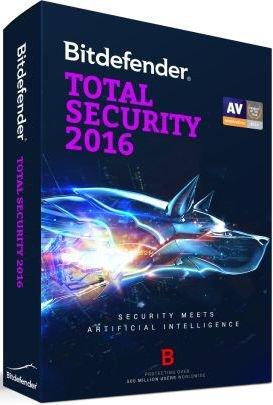 Bitdefender Total Security 2016 Crack and Keygen Free Full