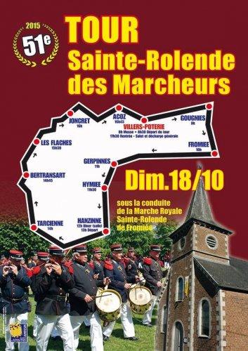 Le Tour Sainte-Rolende des Marcheurs approche - Octobre 2015 - Sudinfo - Gerpinnes
