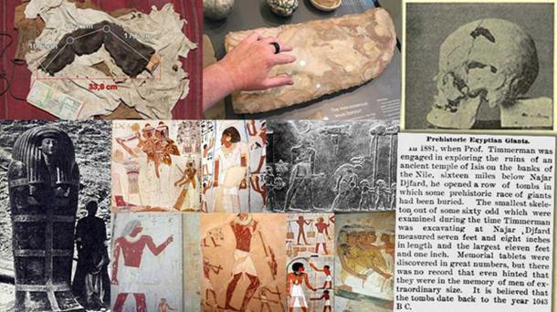 Los gigantes del antiguo Egipto: 1ª parte – El legado perdido de los faraones