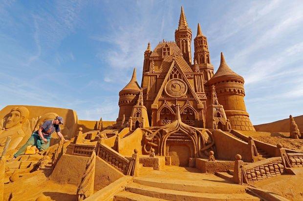Le festival des sculptures de sable a ouvert ses portes à Ostende (en images) - Voyage - LeVifWeekend Mobile