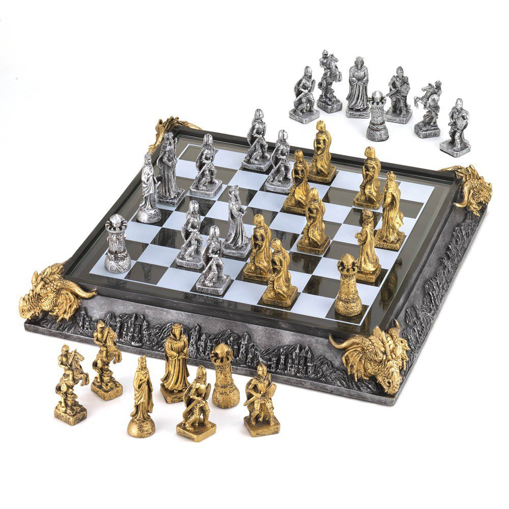 SPECIAL OFFER   Medieval Chess Set