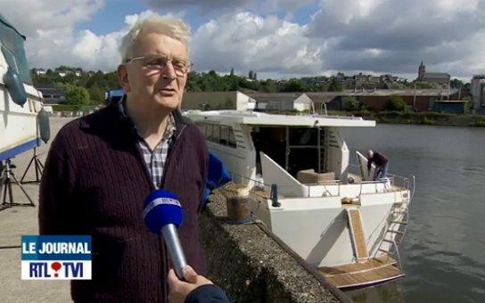 Pierre a construit son propre yacht de ses mains: cela fait 46 ans qu'il attend ce jour (vidéo)