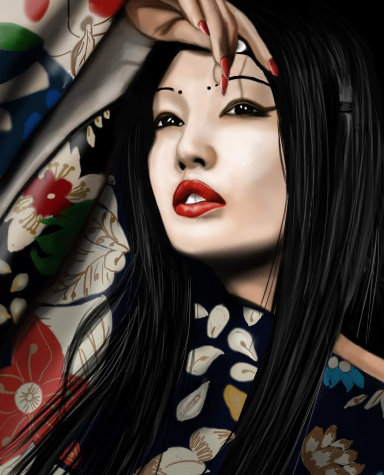 la belle geisha