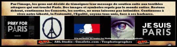 En Hommage aux Victimes de Paris