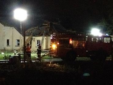 Un Alphajet s'écrase à Vouvray : un mort et au moins quatre blessés