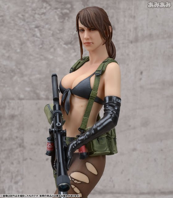 Only Two Weeks Left Before Gecco Release This Awesome 1/6 Statue Of Quiet From Metal Gear Solid V: The Phantom Pain