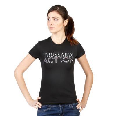 T-SHIRT TRUSSARDI NOIR 2BT03B POUR FEMME