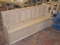Solid Pine, Oak & Painted Storage Benches | Choice of Colours & Finishes | Handcrafted in the UK | Low Factory Direct Prices!