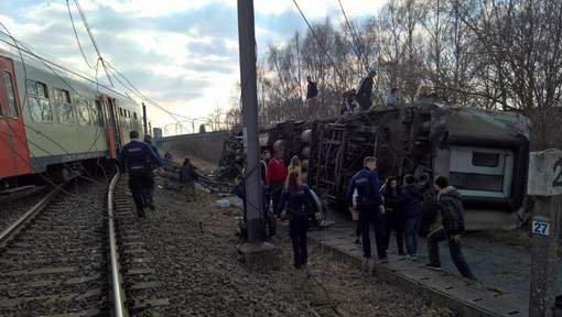 Le déraillement d'un train à Louvain fait un mort et plusieurs blessés