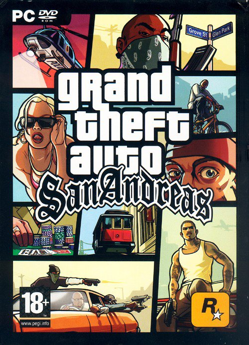 Grand Theft Auto San Andreas - 2005 - PC