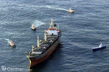 Onze disparus après une collision entre deux cargos en mer du Nord