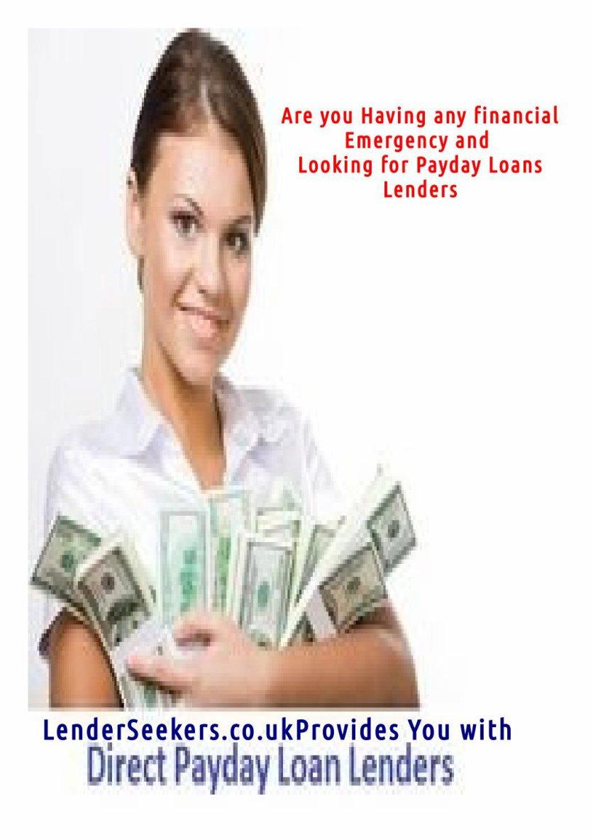 Lenderseekers direct payday lenders