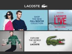 Lacoste : La célèbre marque du crocodile !
