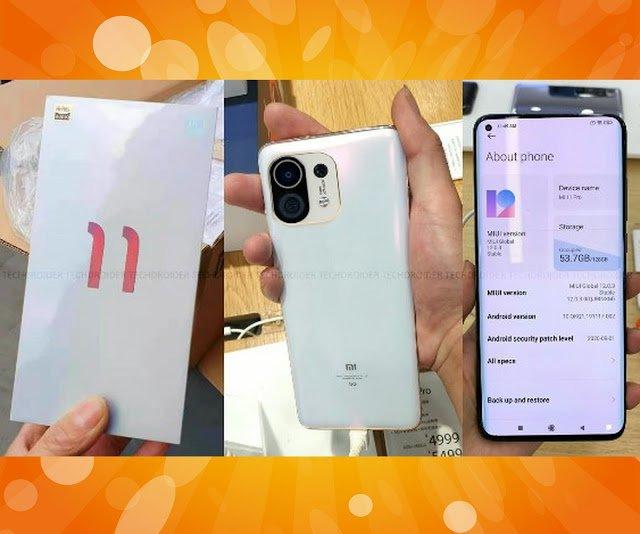 Xiaomi Mi 11 a vendre sur internet en France - Coupon France