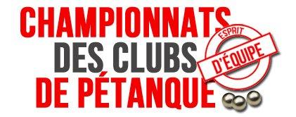100% Clubs - Chp. par équipes de Clubs - ARTICLES sur la pétanque