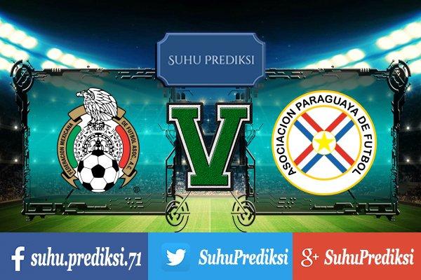 Prediksi Bola Mexico Vs Paraguay 2 Juli 2017