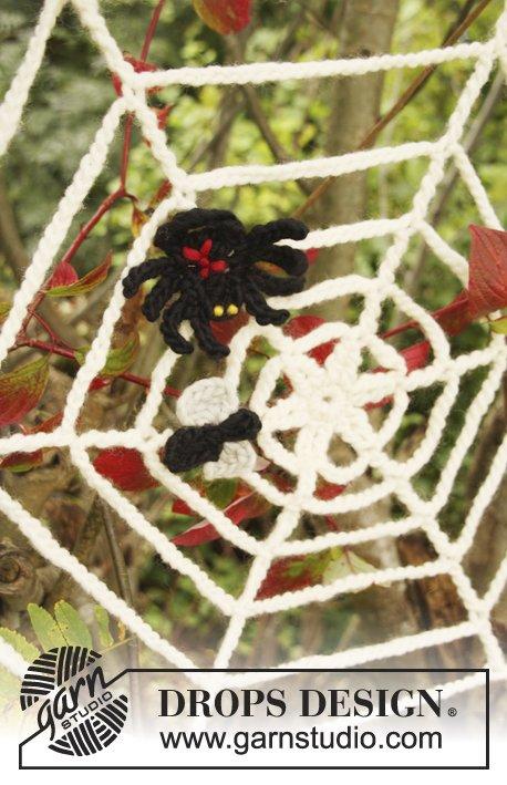 Black Widow / DROPS Extra 0-854 - Modèles crochet gratuits de DROPS Design