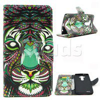 Wish | Tiger Leather Wallet Case for LG G4 H810 VS999 F500