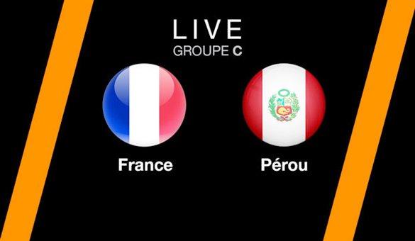 بث مباشر لمباراة فرنسا و البيرو لكأس العالم روسيا 2018 France Vs Pérou Live - Cup World Russia 2018