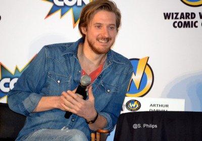 "Arthur Darvill Talks ""Doctor Who"", ""Broadchurch"" At Wizard World Las Vegas"