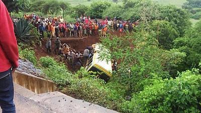 06-05-2019 - Tanzanie - une trentaine d'enfants périssent dans un accident d'autocar