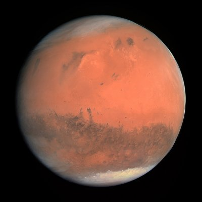 cnes | La planète Mars