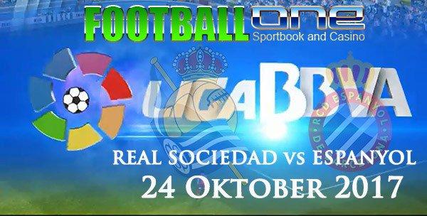 Prediksi REAL SOCIEDAD vs ESPANYOL 24 Oktober 2017