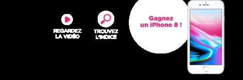 gagnez 1 smartphone iPhone 8 256Go