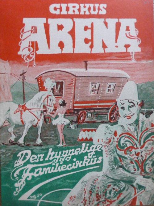 Programme cirkus ARENA 1965