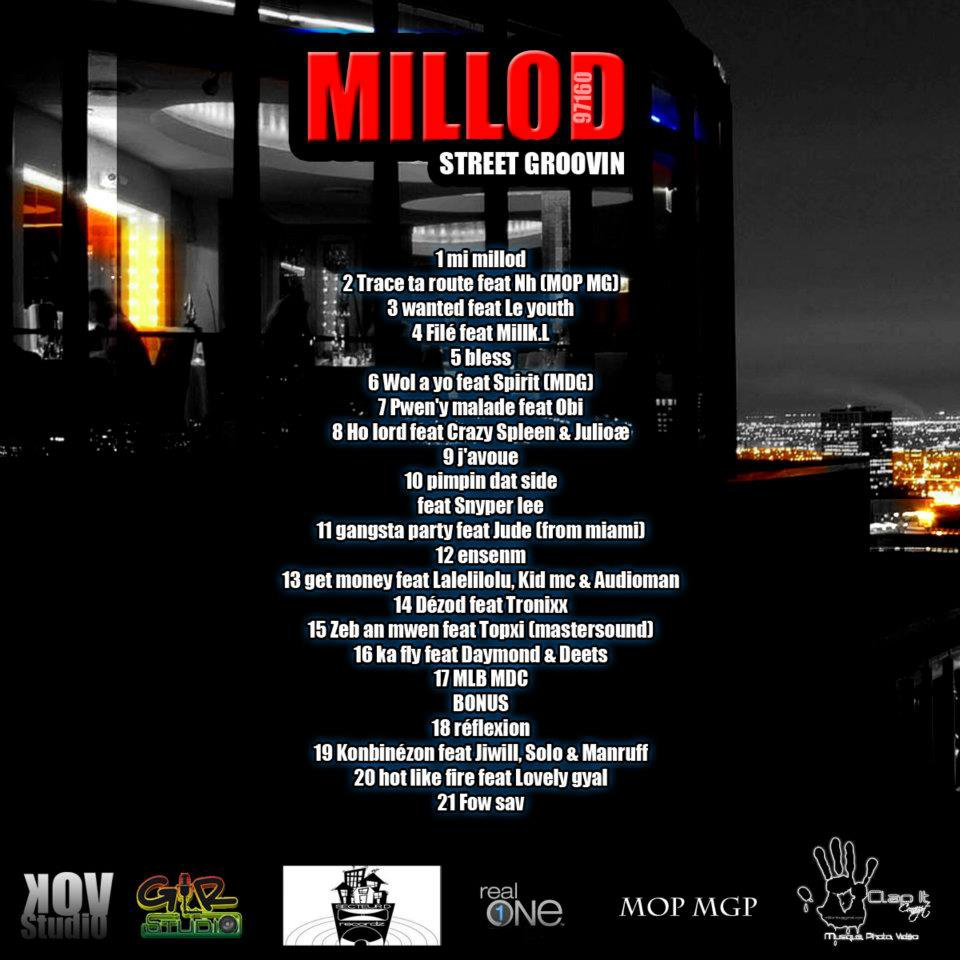 1er projet underground de Millod « Street groovin » en telechargement legal | Blog | 97plus