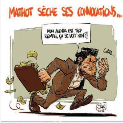 Notre caricature était bien humoristique: Alain Mathot (PS) est condamné à nous verser 1.320 euros