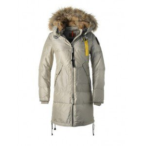 Parajumpers Long Bear-W Coat Ivory what is a down jacket