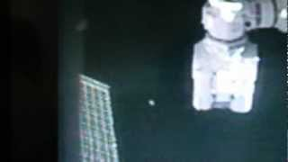 UFO WATCHING NASA SPACEWALK? September 5, 2012 by ISS Expedition 32