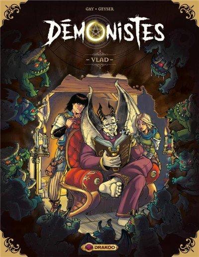 Démonistes tome1-Vlad de Gay et Geyser