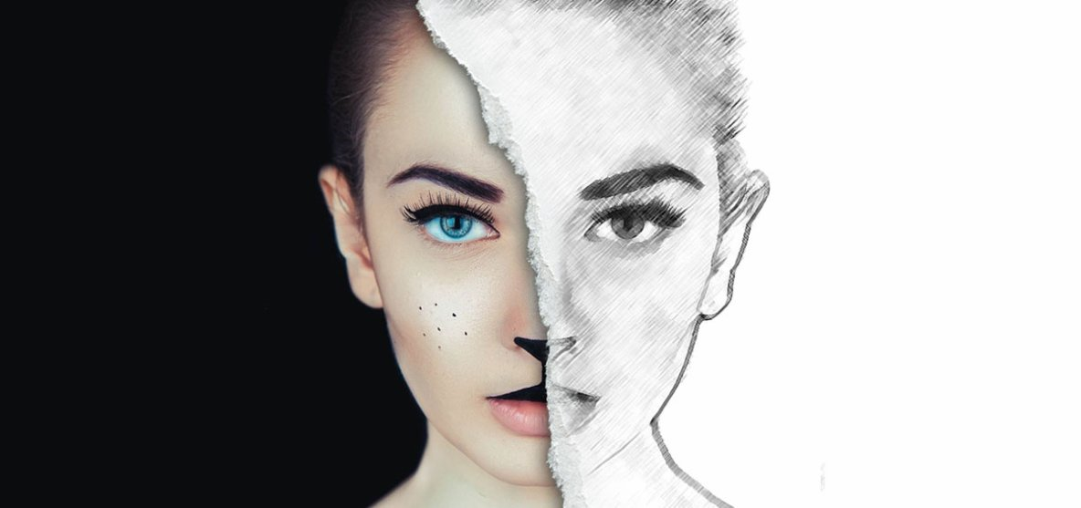 Half Sketch Effect In Photoshop » Photoshop Tutorials
