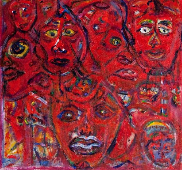 Exposition Art Blog: Herbert Gentry - Expressionist Paintings