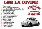 LEE LA DIVINE en concert le dimanche 13 mai à HEUDREVILLE (27)
