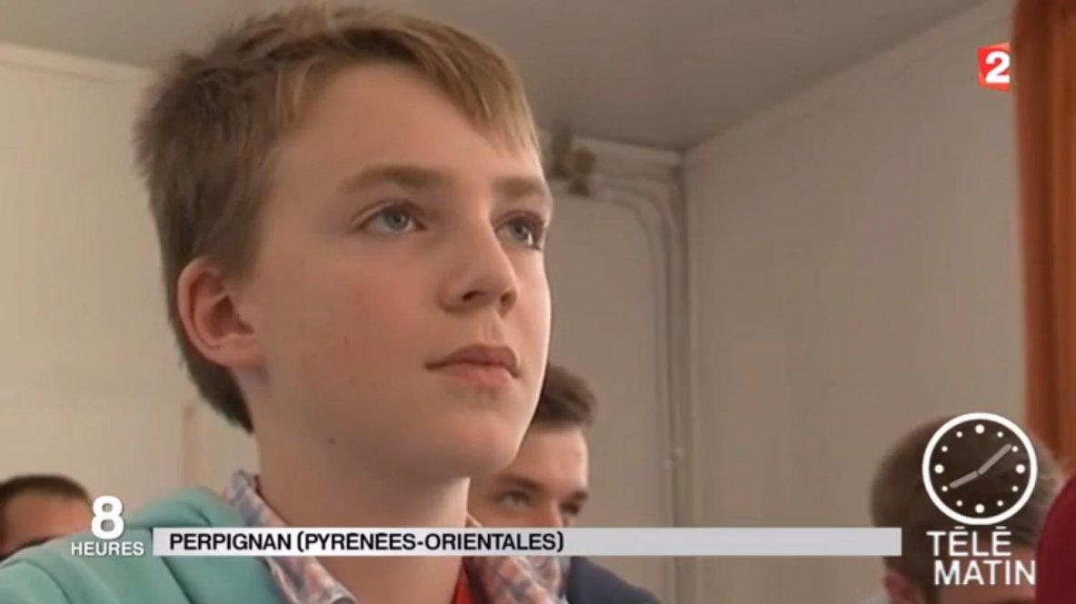 Un petit génie suisse à l'université de Perpignan