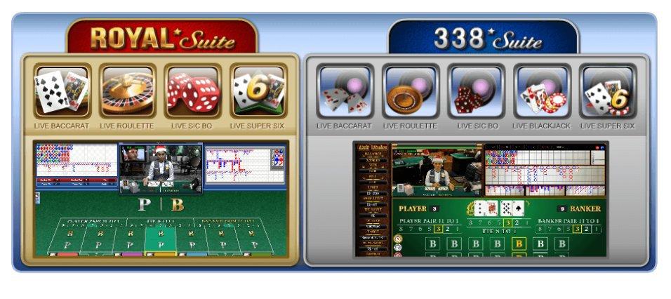 Judi Casino SBOBET Royal Suite Dan 338 Suite Android iOS