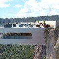 Gravity-defying cliffside bar would overlook Mexico's second highest waterfall