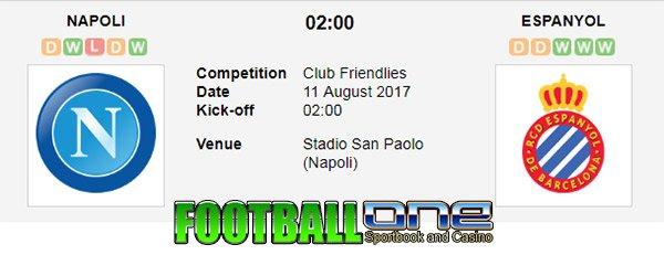 Prediksi NAPOLI vs ESPANYOL 11 Agustus 2017