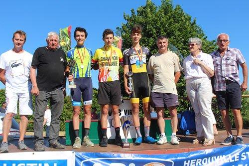 Championnat de Normandie de l'Avenir à Mont-Bertrand- Sous les rayons de soleil, la jeunesse incarne la relève | Normandie Cyclisme