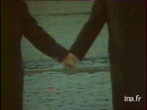 François Mitterrand et Helmut Kohl main dans la main