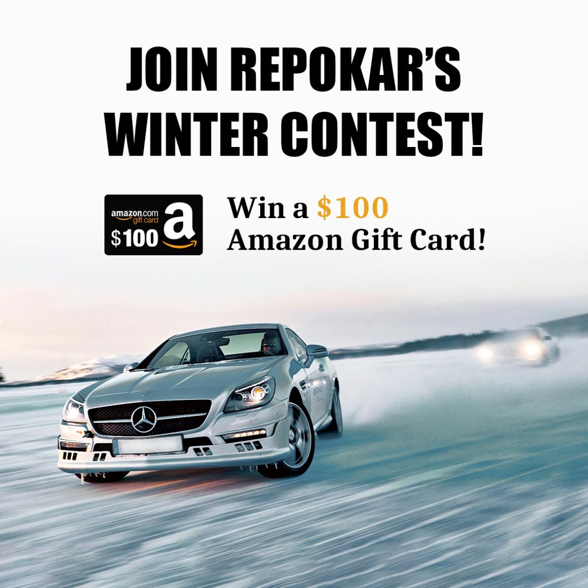 Win a $100.00 Amazon Gift Card with RepoKar